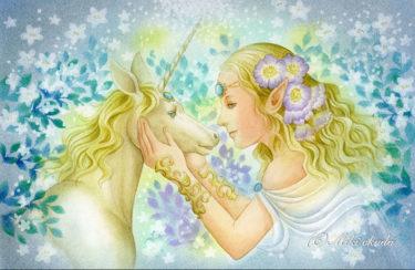 銀の姫と一角獣
